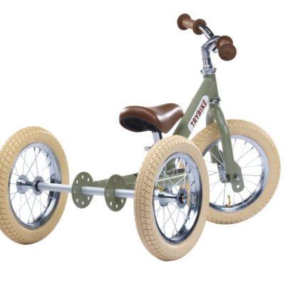 Trybike Steel Vintage 2-in-1 - Green