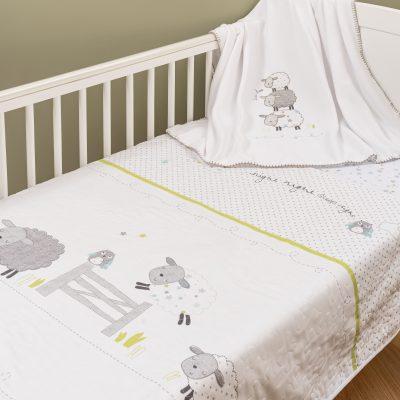 9882CS Counting Sheep 3 Piece Bedding Set