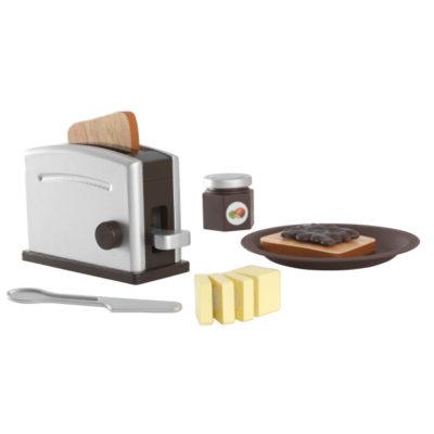 KidKraft Espresso Toaster Set1