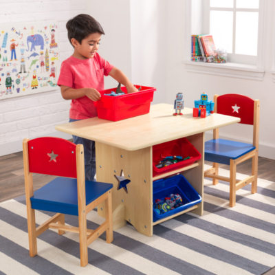 KidKraft Star Table & Chair Set4