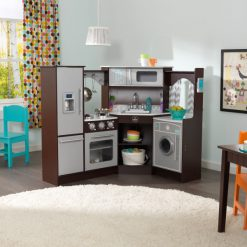 KidKraft Ultimate Corner Play Kitchen with lights and sound