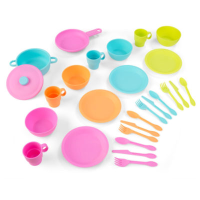 Kidkraft 27-Piece Bright Cookware Set1