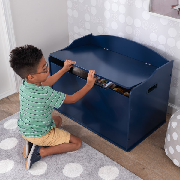 Kidkraft Austin Toy Box - Blueberry4