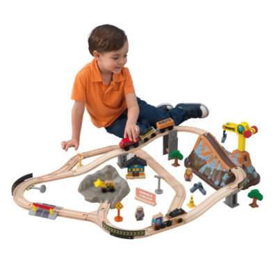 Kidkraft Bucket Top Construction Train Set2