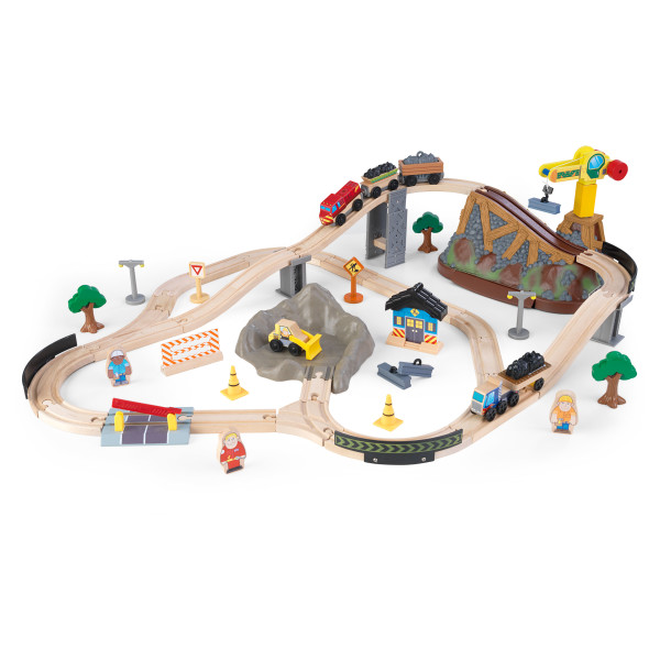 Kidkraft Bucket Top Construction Train Set3