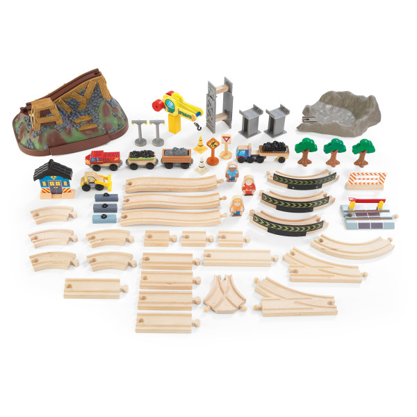Kidkraft Bucket Top Construction Train Set5