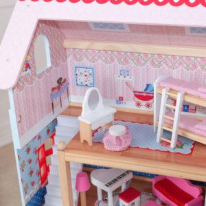 Kidkraft Chelsea Doll Cottage6