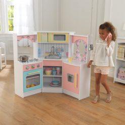 Kidkraft Deluxe Corner Play Kitchen2