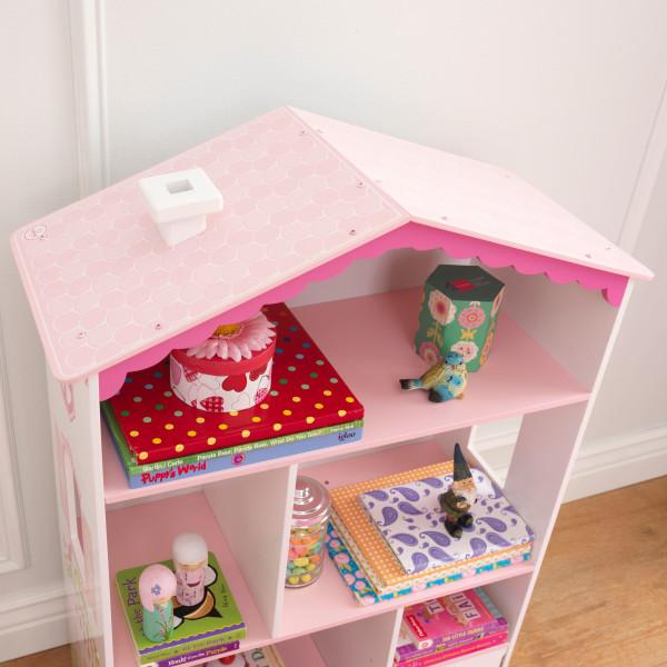 Kidkraft Dollhouse Cottage Bookcase4