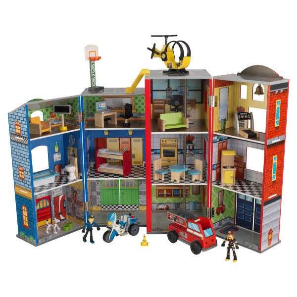 Kidkraft Everyday Heroes Wooden Play Set2