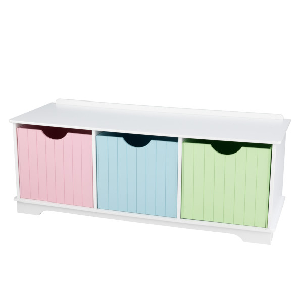 Kidkraft Nantucket Storage Bench Pastel4