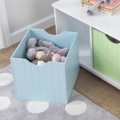 Kidkraft Nantucket Storage Bench Pastel6