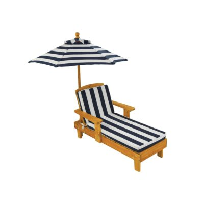 Kidkraft Outdoor Chaise with Umbrella1