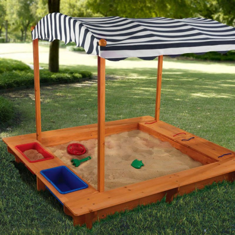 Kidkraft Outdoor Sandbox with CanopyKidkraft Outdoor Sandbox with Canopy