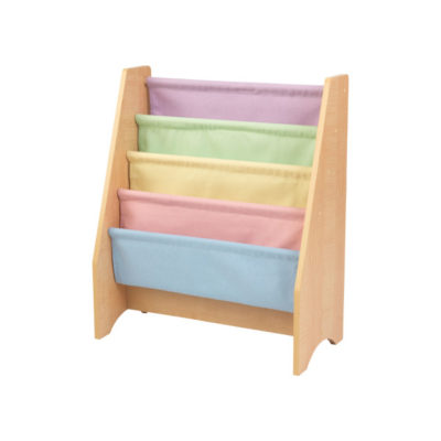 Kidkraft Pastel Sling Bookshelf1
