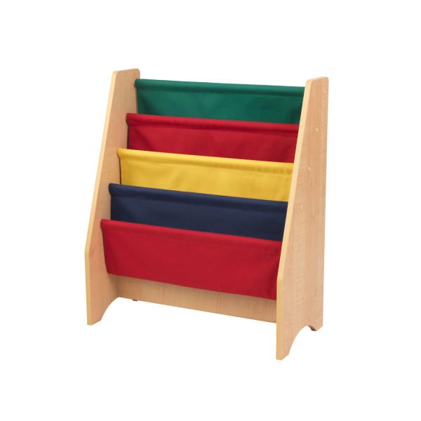Kidkraft Primary Sling Bookshelf2