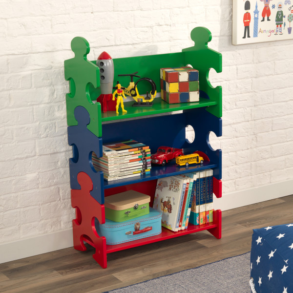 Kidkraft Primary Puzzle Bookshelf