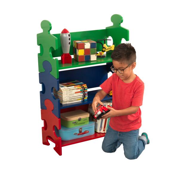 Kidkraft Puzzle Bookshelf - Primary1