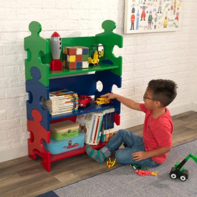 Kidkraft Puzzle Bookshelf - Primary2