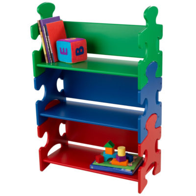 Kidkraft Puzzle Bookshelf - Primary3