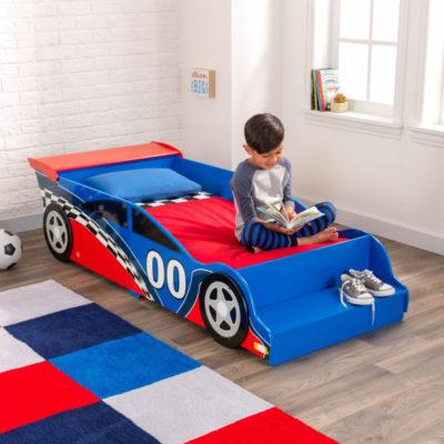 Kidkraft Racecar Toddler Bed2