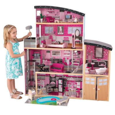Kidkraft Sparkle Mansion Dollhouse1