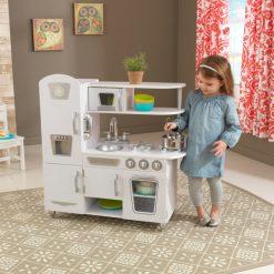 Kidkraft Vintage Kitchen White2