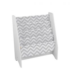 Kidkraft White Sling Bookshelf - Grey1