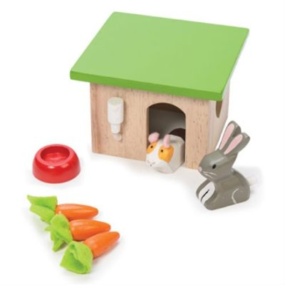 Le Toy Van Doll House Bunny and Guinea Set