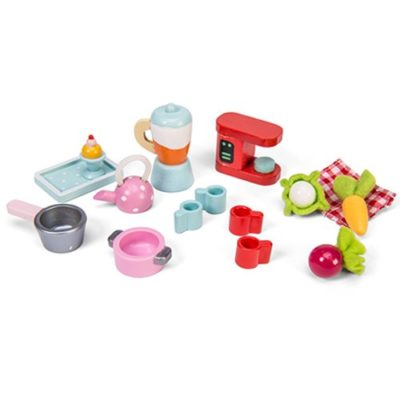 Le Toy Van Doll House Tea-Time Kitchen Accessory Pack