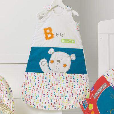 Obaby B is for Bear Sleeping Bag (0-6months) - Happy Safari