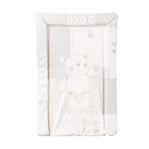 Obaby Changing Mat - B is for Bear White
