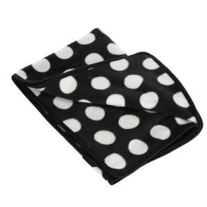 Obaby Dotty Fleece Pram Blanket