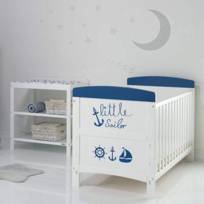 Obaby Grace Inspire 2 Piece Room Set - Little Sailor