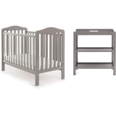 Obaby Ludlow 2 Piece Room Set - Taupe Grey