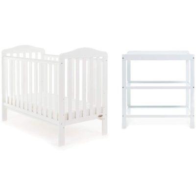 Obaby Ludlow 2 Piece Room Set - White