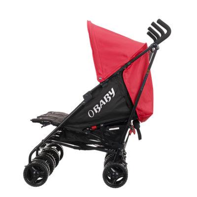 Obaby Mercury Triple Stroller - Blackred 6