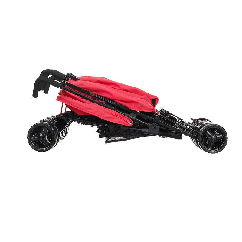 Obaby Mercury Triple Stroller - Blackred 8