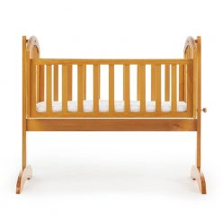 Obaby Sophie Swinging Crib and Mattress - Country Pine 2