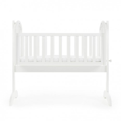 best website 66e80 47d7e Obaby Sophie Swinging Crib and Mattress - White