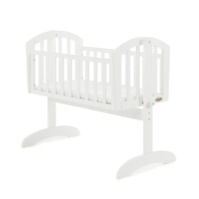 Obaby Sophie Swinging Crib & Mattress White