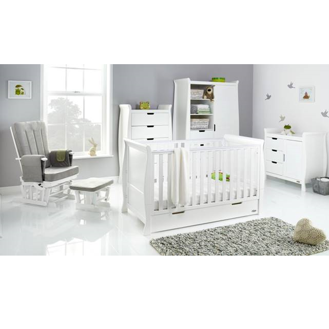 Obaby Stamford Classic 5 Piece Room Set - White