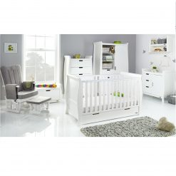 Obaby Stamford Classic 7 Piece Room Set - White