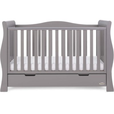 Obaby Stamford Luxe 3 Piece Room Set - Taupe Grey 2