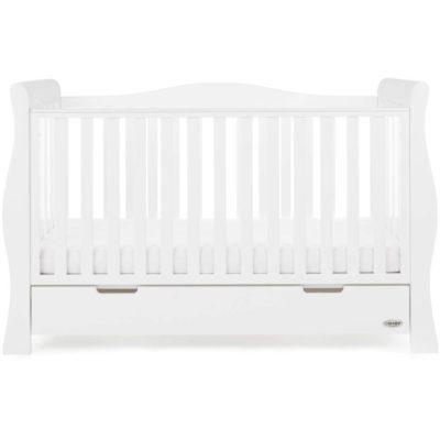 Obaby Stamford Luxe 3 Piece Room Set - White 2