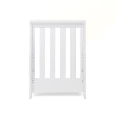 Obaby Stamford Mini Sleigh Cot Bed - White 3