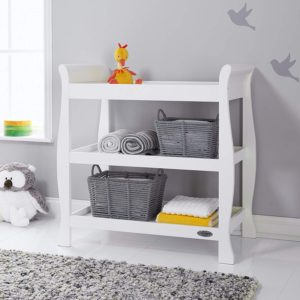 Obaby Stamford Open Changing Unit - White 3