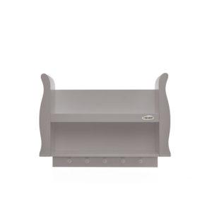 Obaby Stamford Sleigh Shelf - Taupe Grey