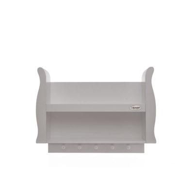 Obaby Stamford Sleigh Shelf - Warm Grey