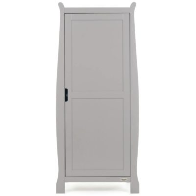 Obaby Stamford Sleigh Single Wardrobe - Warm Grey 2